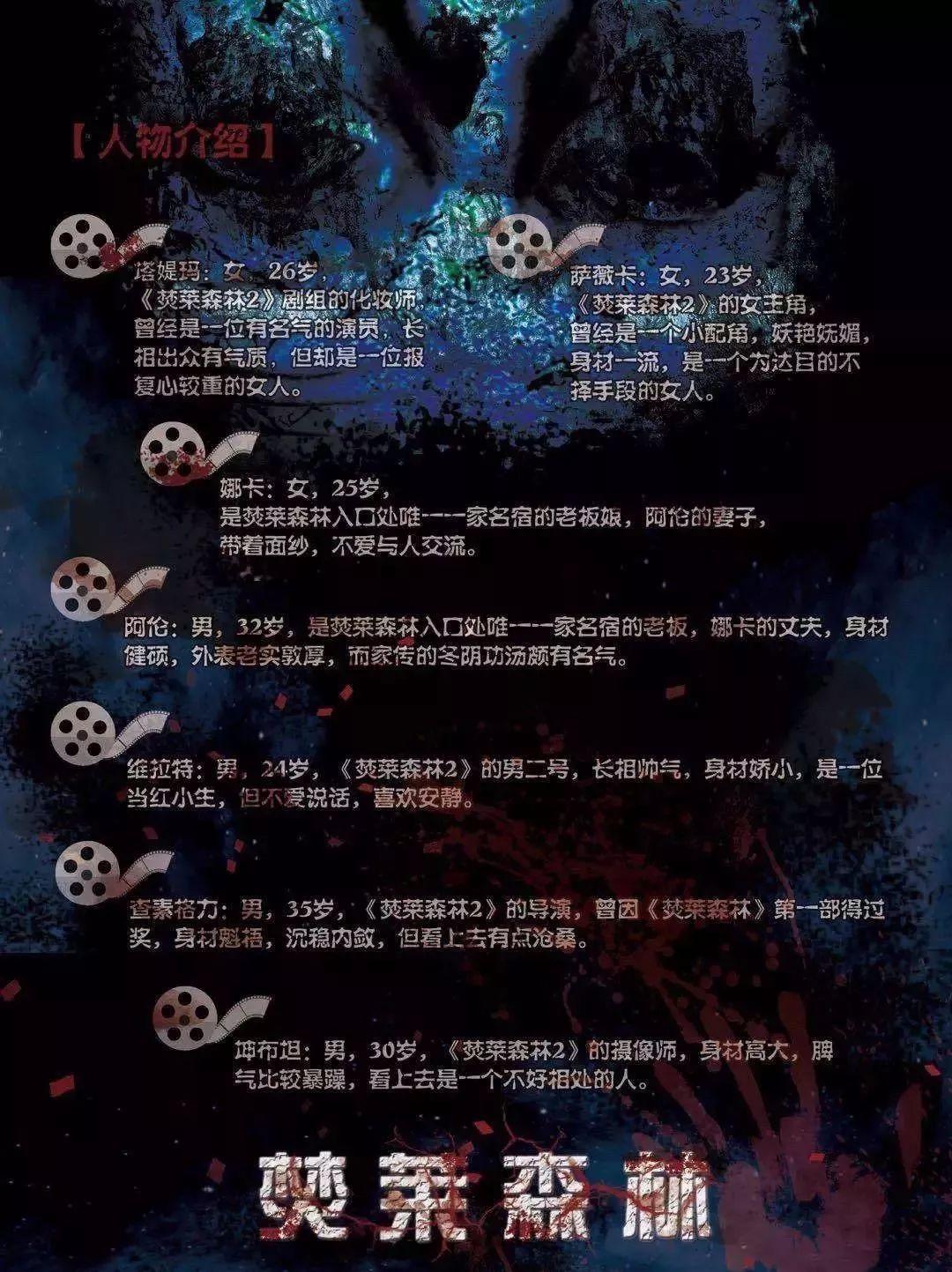 7人本《焚莱森林》剧本杀线索复盘真相剧透结局真凶手是谁?%-site_name