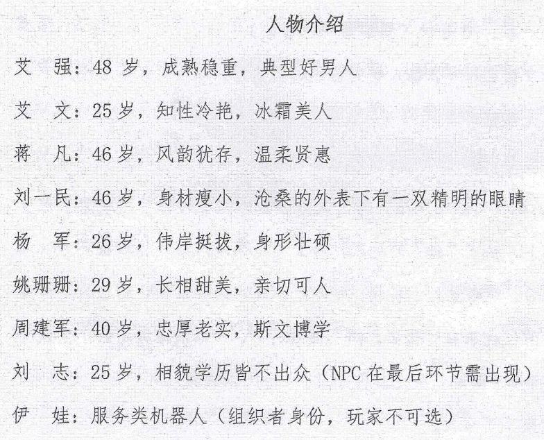7人本《渊》剧本杀线索复盘真相剧透结局真凶手是谁?%-site_name